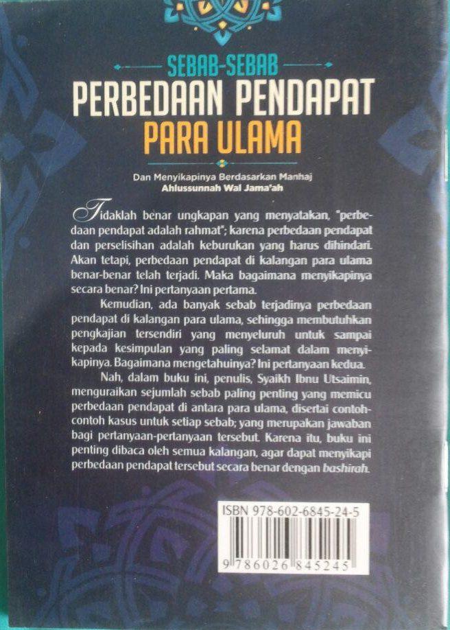 Buku Saku Sebab-Sebab Perbedaan Pendapat Para Ulama 7.000 15% 5.950 Darul Haq Muhammad bin Shalih Al-Utsaimin cover