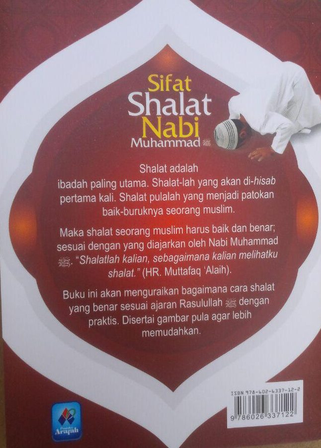 Buku Saku Sifat Shalat Nabi Muhammad Plus Dzikir Bergambar 5.000 15% 4.250 Pustaka Arafah Abdullah bin Abdurrahman Al Jibrin cover 2