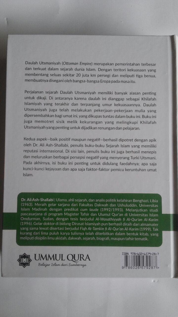 Buku Sejarah Daulah Utsmaniyah Faktor Kebangkitan Keruntuhan 179.000 20% 143.200 Ummul Qura Ali Muhammad Ash-Shallabi cover