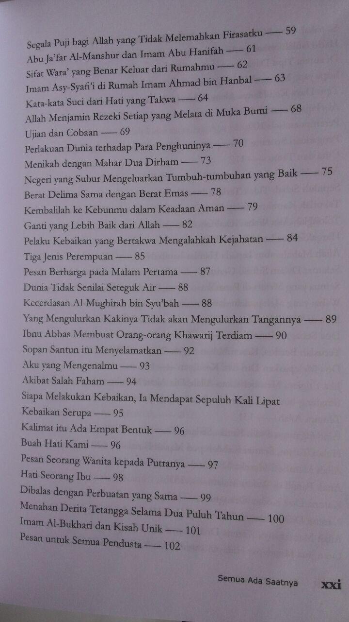 Buku Semua Ada Saatnya Seni Menikmati Hidup Lebih Seimbang 85.000 20% 68.000 Pustaka Al-Kautsar Mahmud Al-Mishri isi