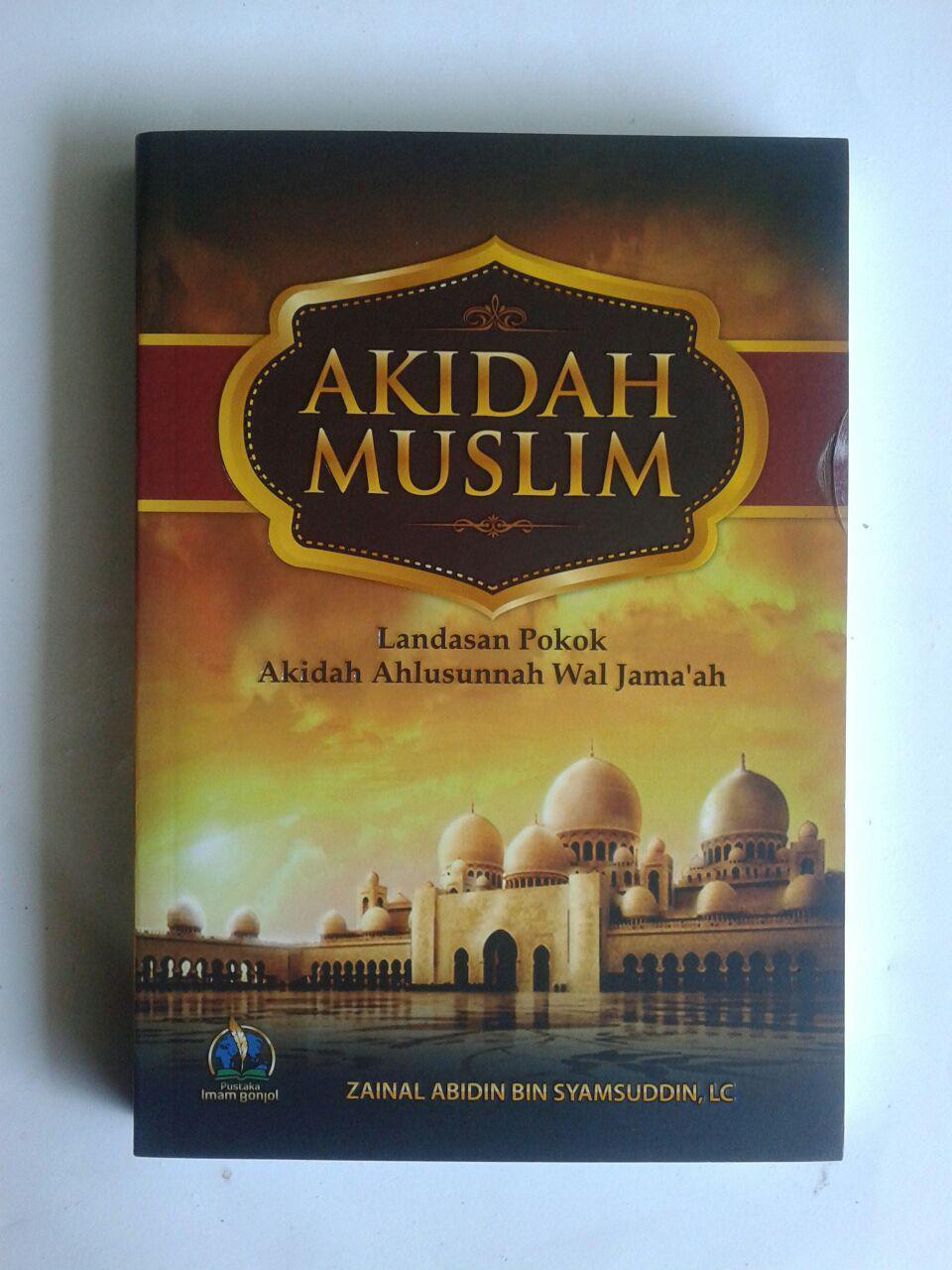 Buku Akidah Muslim Landasan Pokok Akidah Ahlussunnah cover 2