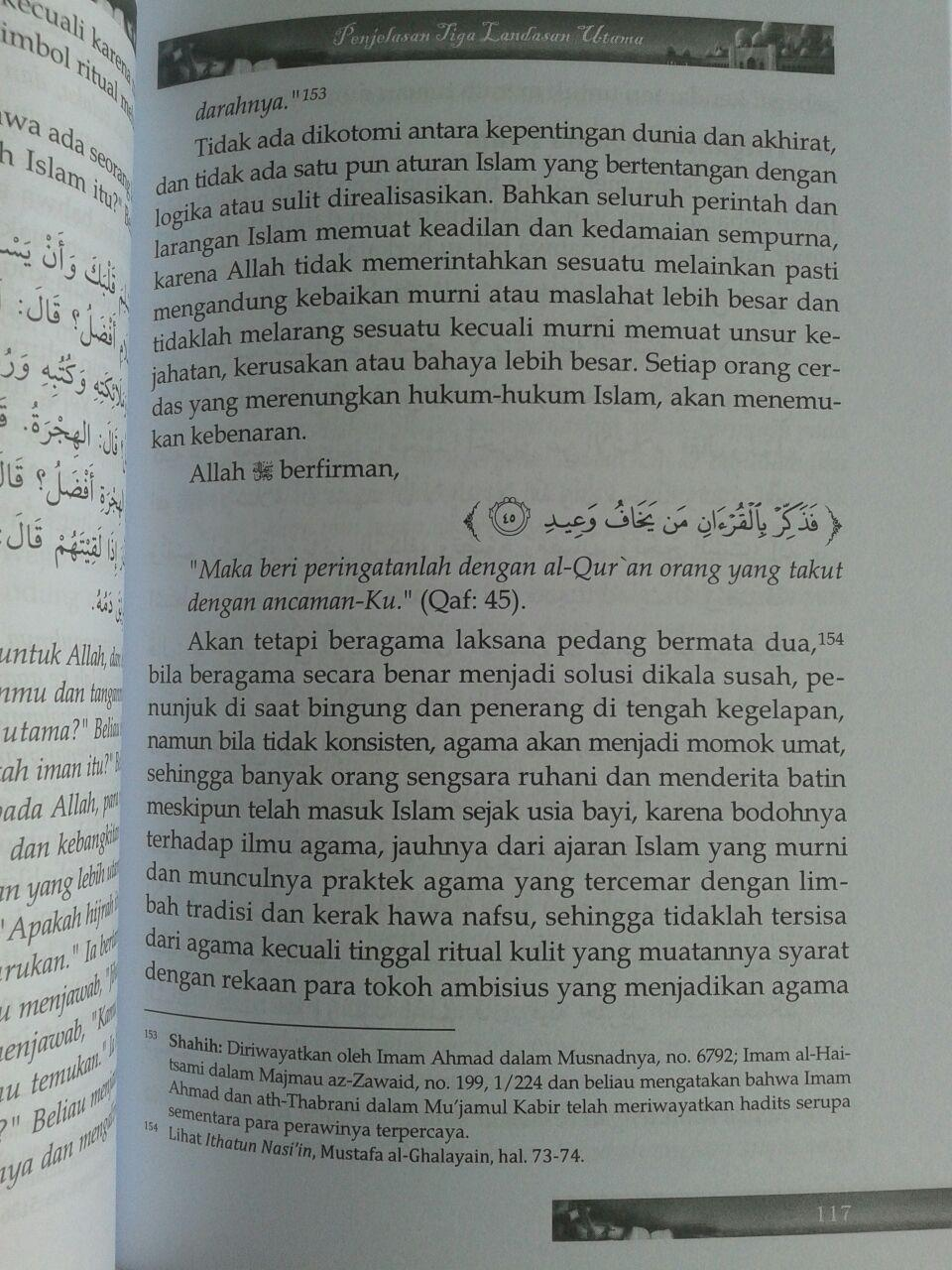 Buku Akidah Muslim Landasan Pokok Akidah Ahlussunnah isi 2