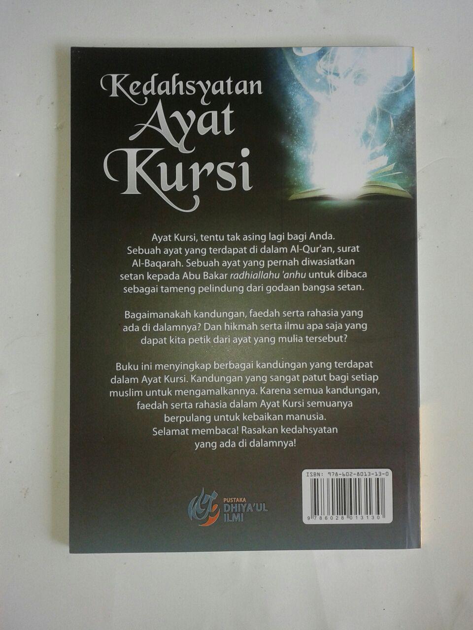 Buku Kedahsyatan Ayat Kursi Menguak Misteri Tersembunyi cover