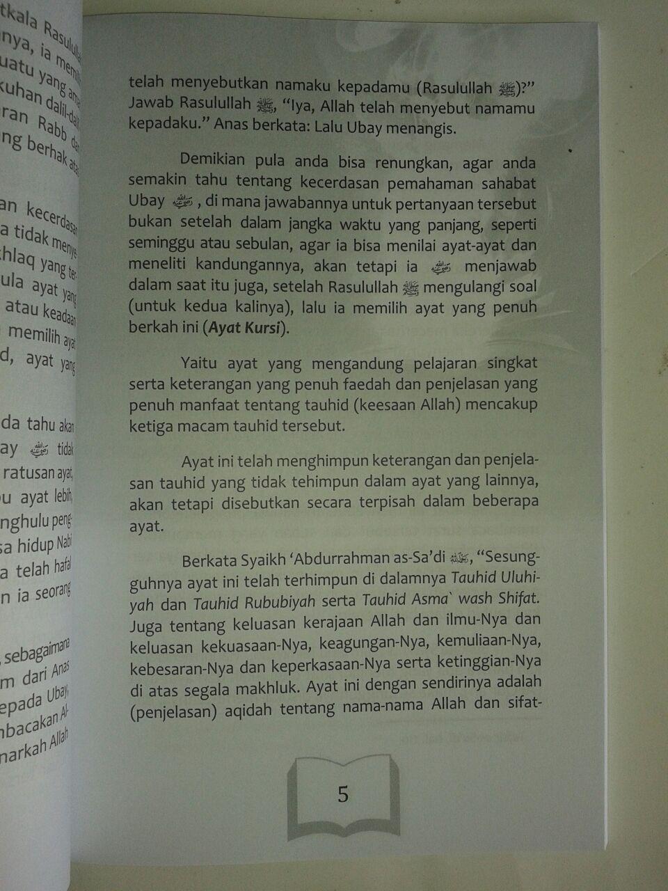 Buku Kedahsyatan Ayat Kursi Menguak Misteri Tersembunyi isi 2