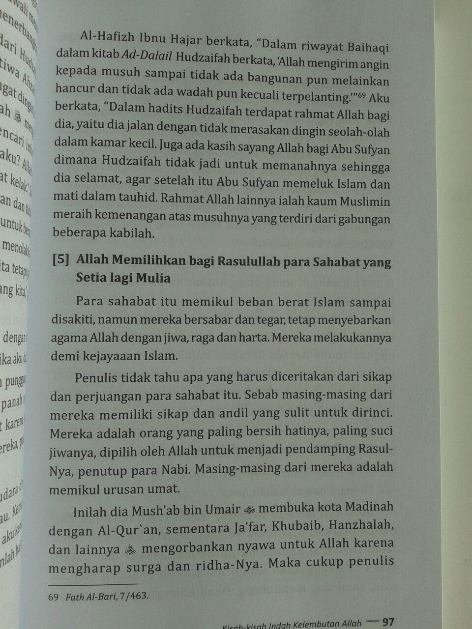 Buku Kisah-Kisah Indah Kelembutan Allah Pustaka Al-Kautsar Sayyid Uthwah isi 2