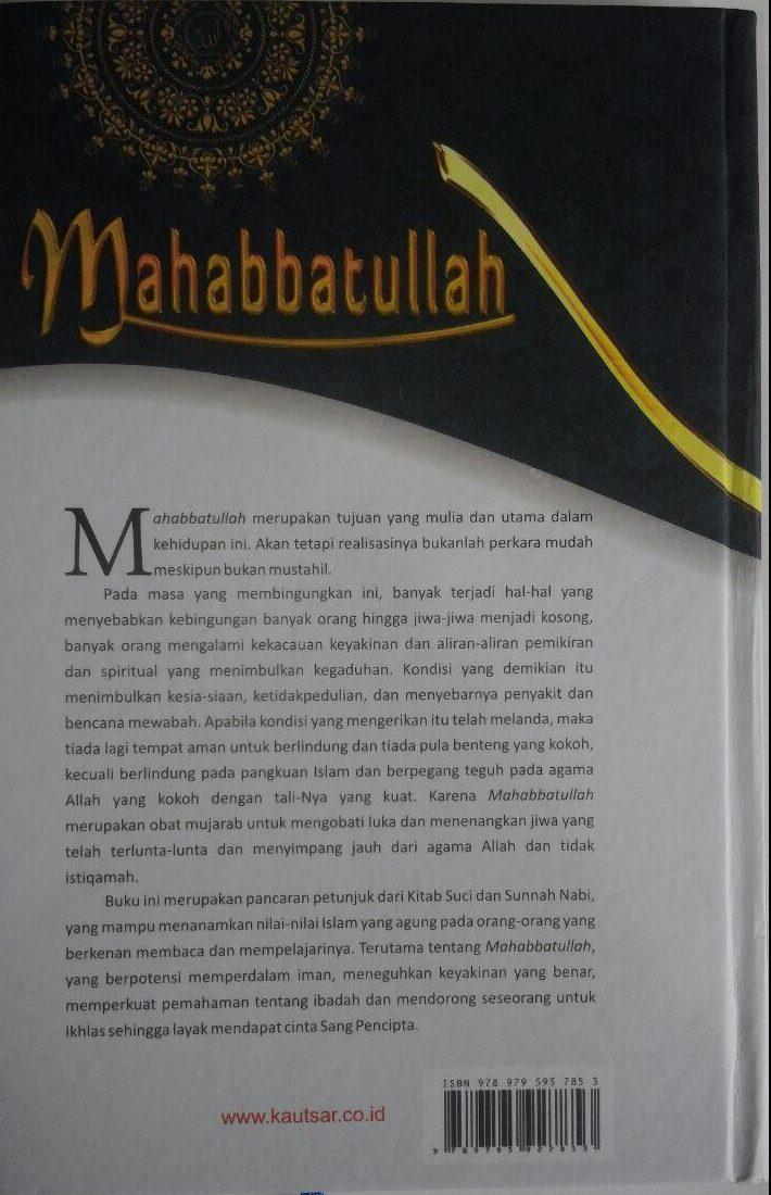 Buku Mahabbatullah Cinta Kepada Allah 110.000 20% 88.000 Pustaka Al-Kautsar Ibnu Qayyim Al-Jauziyyah cover