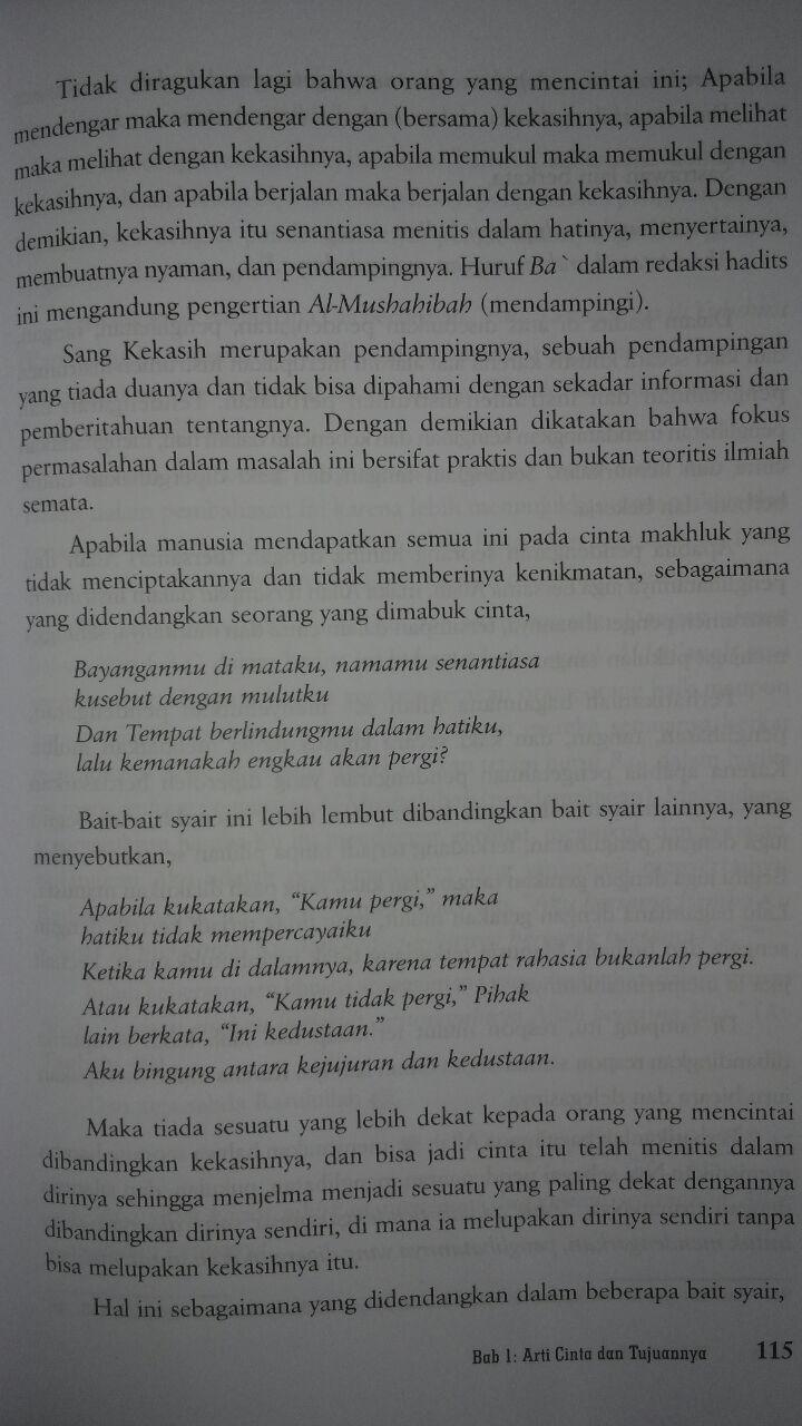 Buku Mahabbatullah Cinta Kepada Allah 110.000 20% 88.000 Pustaka Al-Kautsar Ibnu Qayyim Al-Jauziyyah isi 3