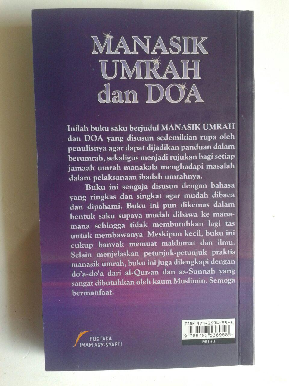 Buku Manasik Umrah Dan Doa Menurut Al-Quran Dan As-Sunnah cover