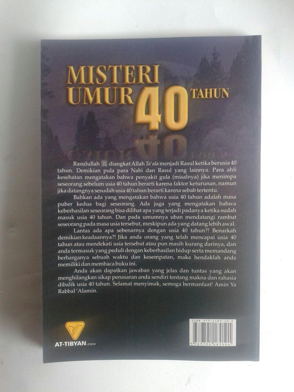 Buku Misteri Umur 40 Tahun isi 2