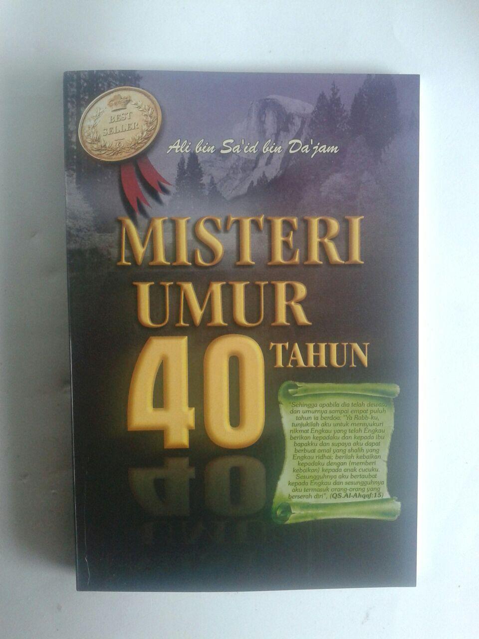 Buku Misteri Umur 40 Tahun isi