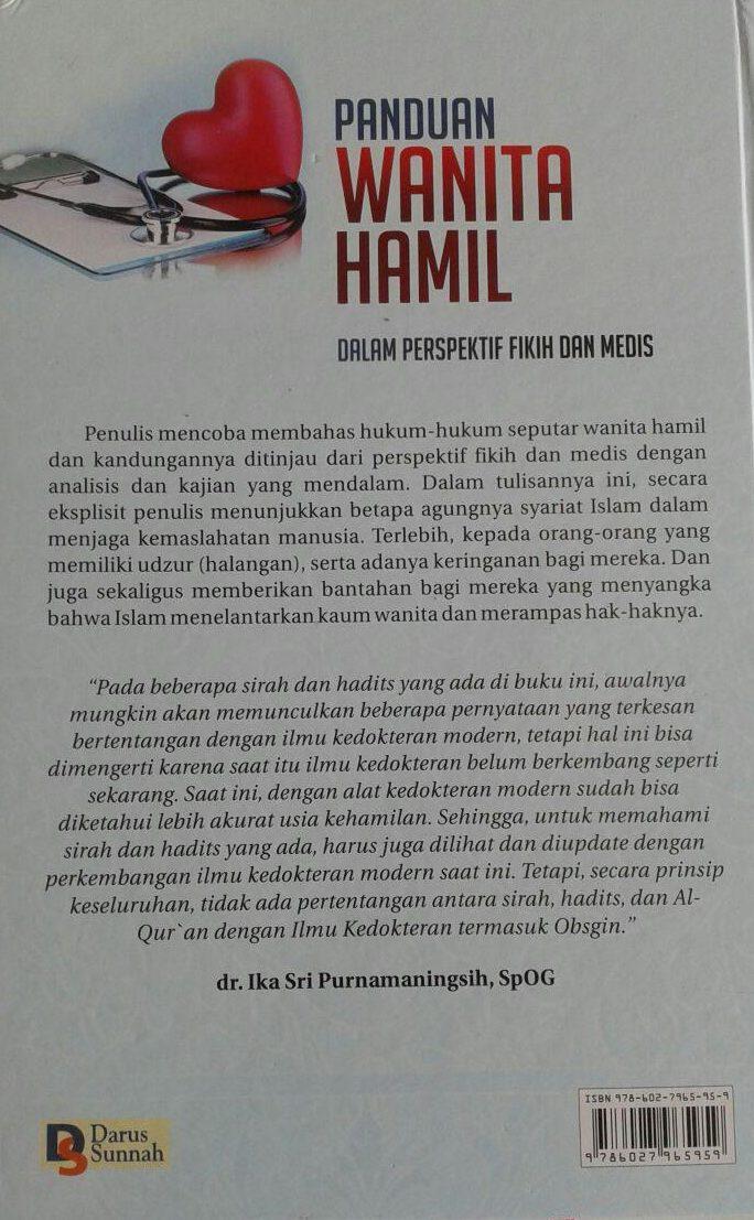 Buku Panduan Wanita Hamil Dalam Perspektif Fikih Dan Medis cover