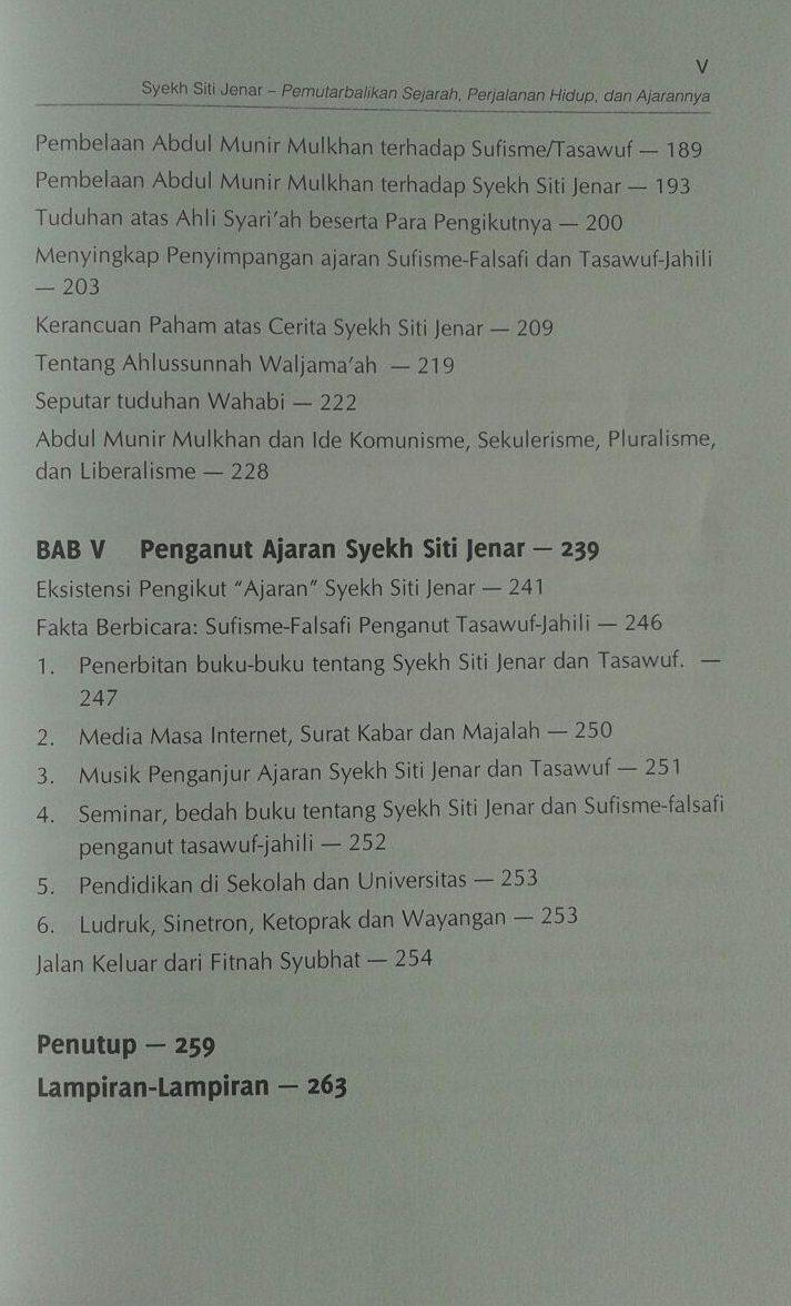 Buku Syekh Siti Jenar Pemutarbalikan Sejarah Hidup Ajaran isi