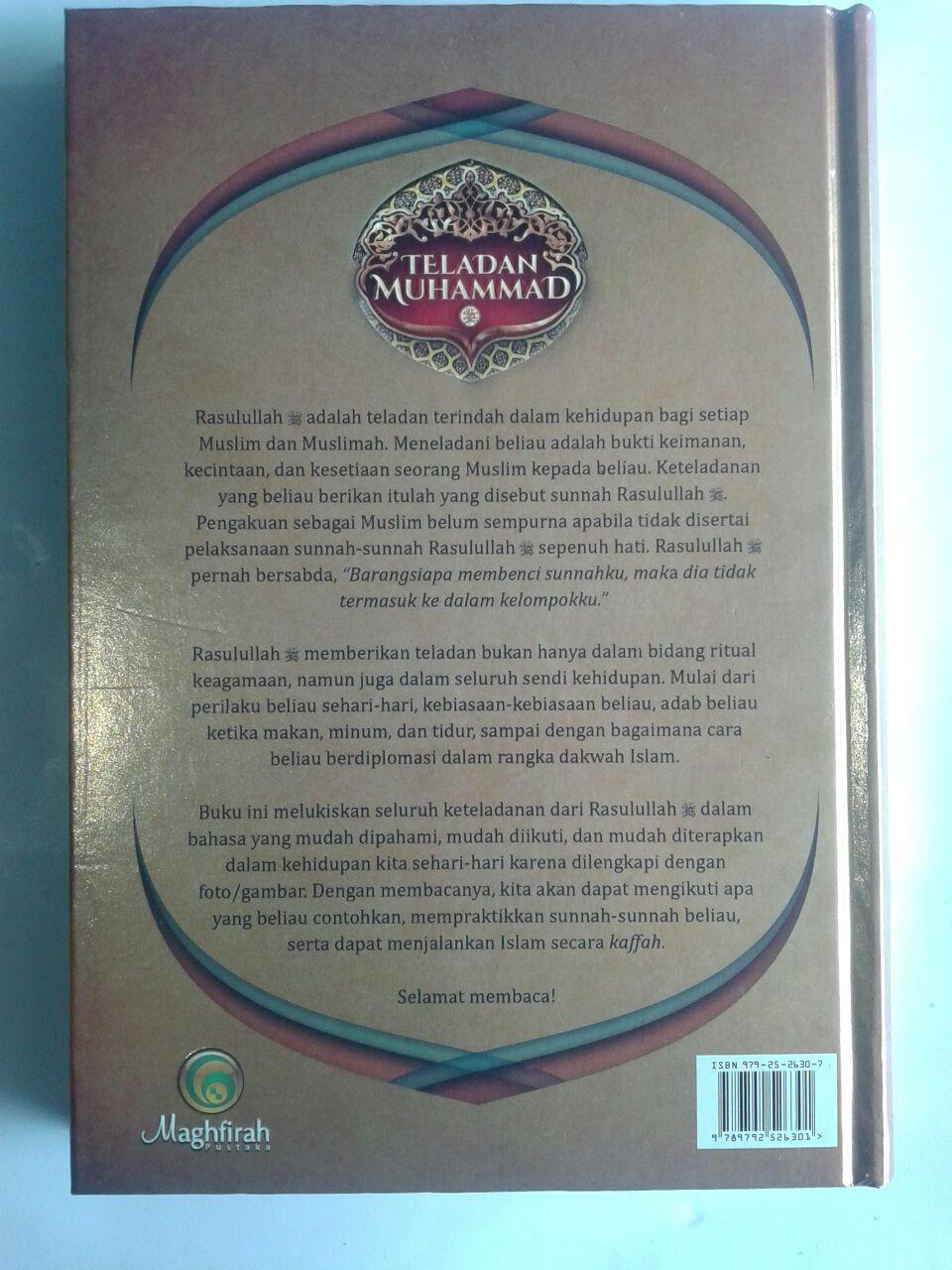 Buku Teladan Muhammad Belajar Langsung Dari Rasulullah cover