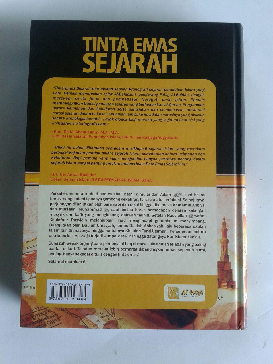 Buku Tinta Emas Sejarah Sejak Nabi Adam Hingga Abad 14 H cover
