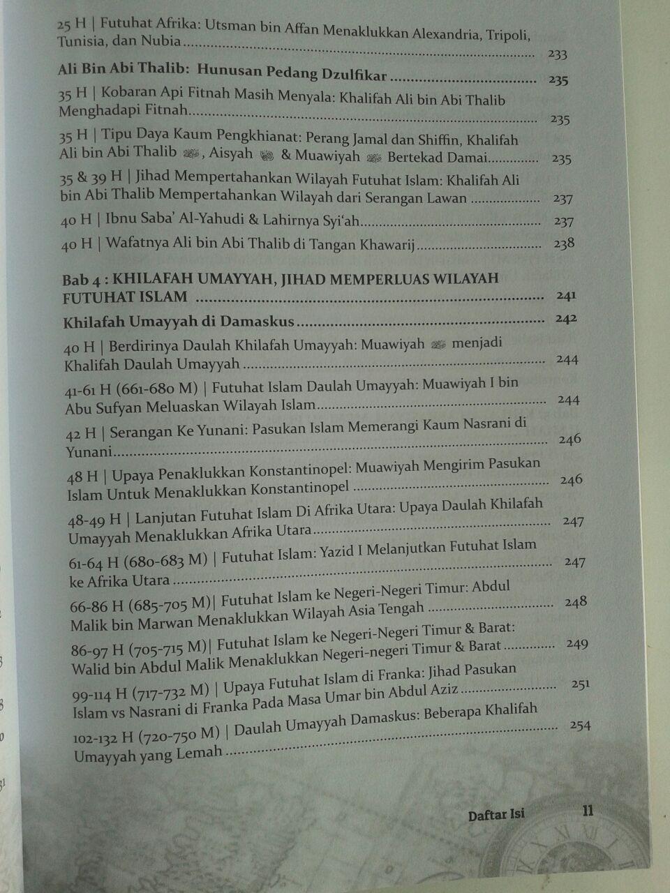 Buku Tinta Emas Sejarah Sejak Nabi Adam Hingga Abad 14 H isi 2