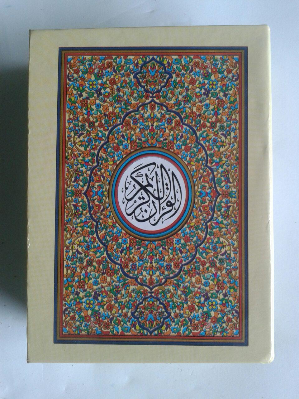 Al-Qur'an Impor Per Juz Tanpa Terjemah Ukuran 10x14 cover