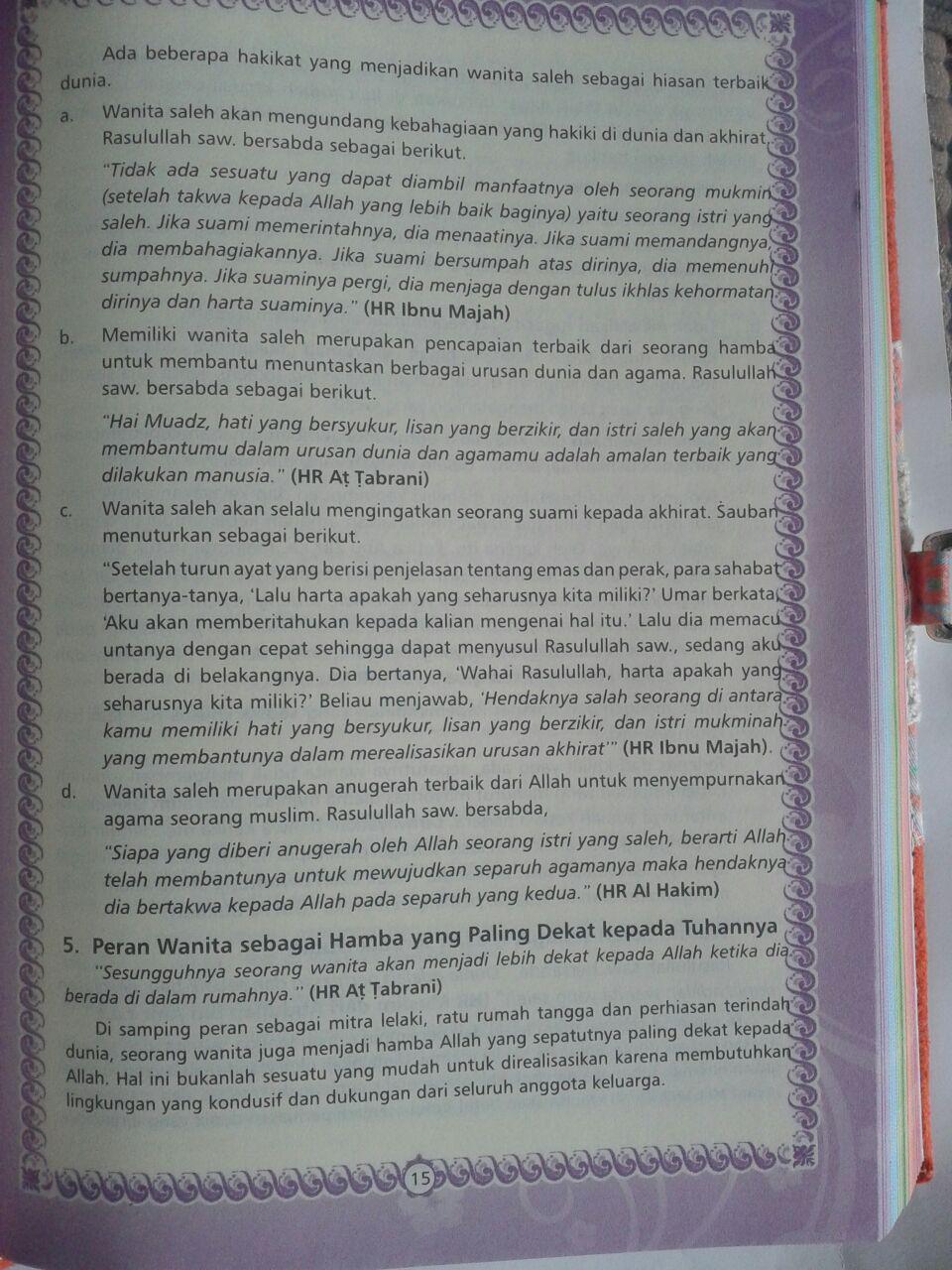 Al-Qur'an Tajwid Azalia Ukuran A5 Sampul Suede Hishna isi 3