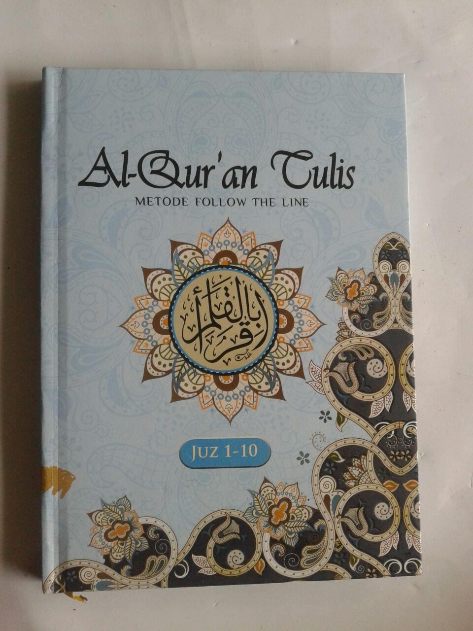 Al-Qur'an Tulis Metode Follow The Line 1 Set 3 Jilid cover