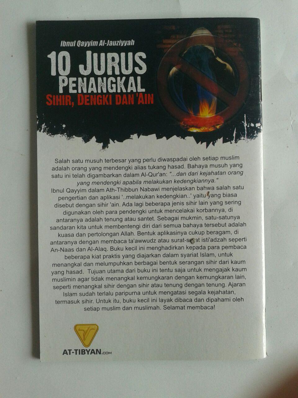 Buku 10 Jurus Penangkal Sihir Dengki Dan Ain cover