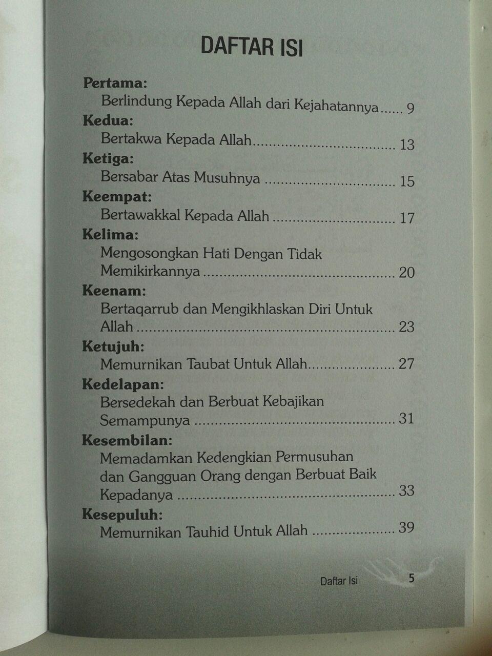 Buku 10 Jurus Penangkal Sihir Dengki Dan Ain isi 3