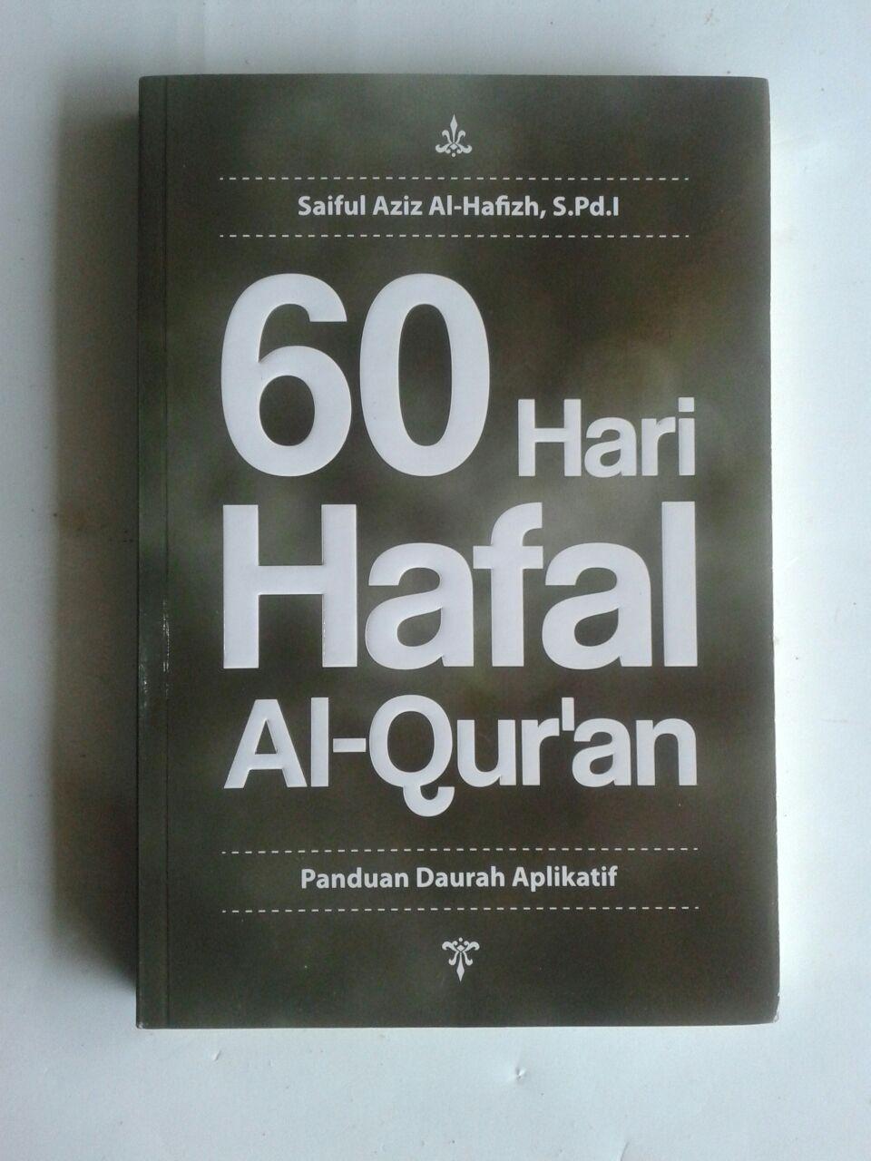 Buku 60 Hari Hafal Al-Qur'an Panduan Daurah Aplikatif cover 2