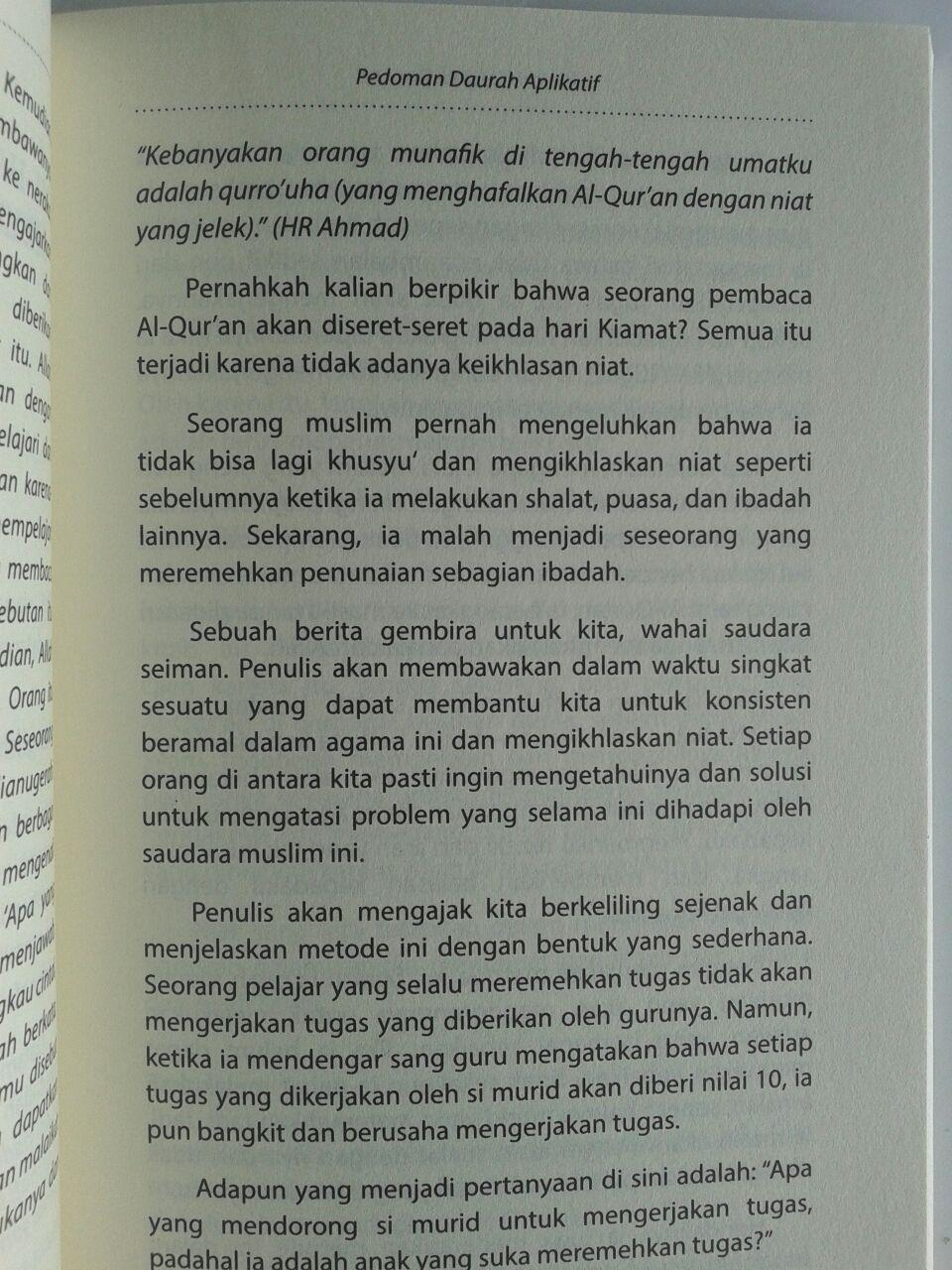 Buku 60 Hari Hafal Al-Qur'an Panduan Daurah Aplikatif isi 3