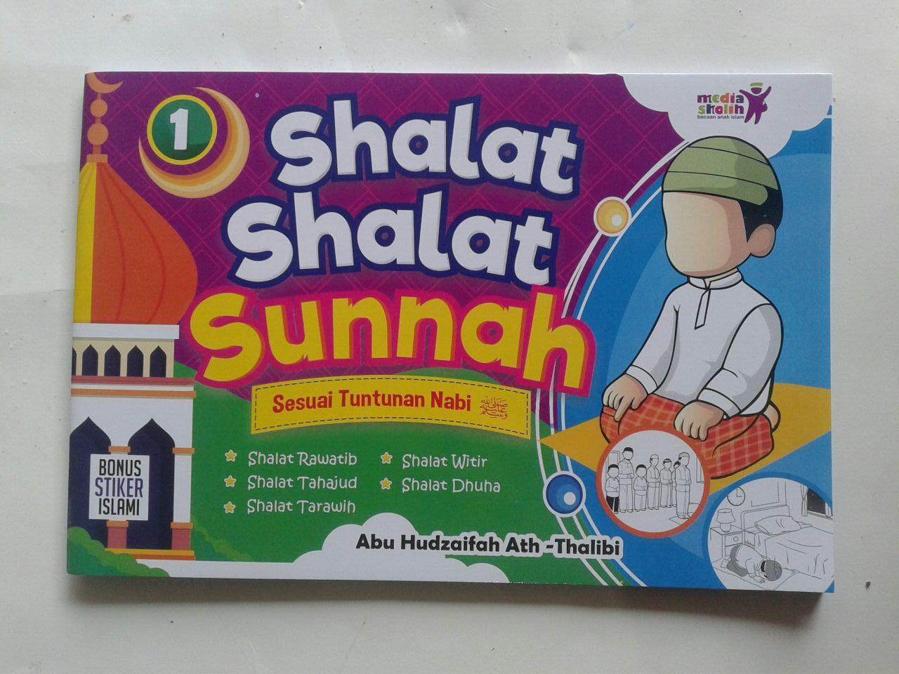 Buku Anak Shalat Shalat Sunnah Sesuai Tuntunan Nabi 1 cover 2