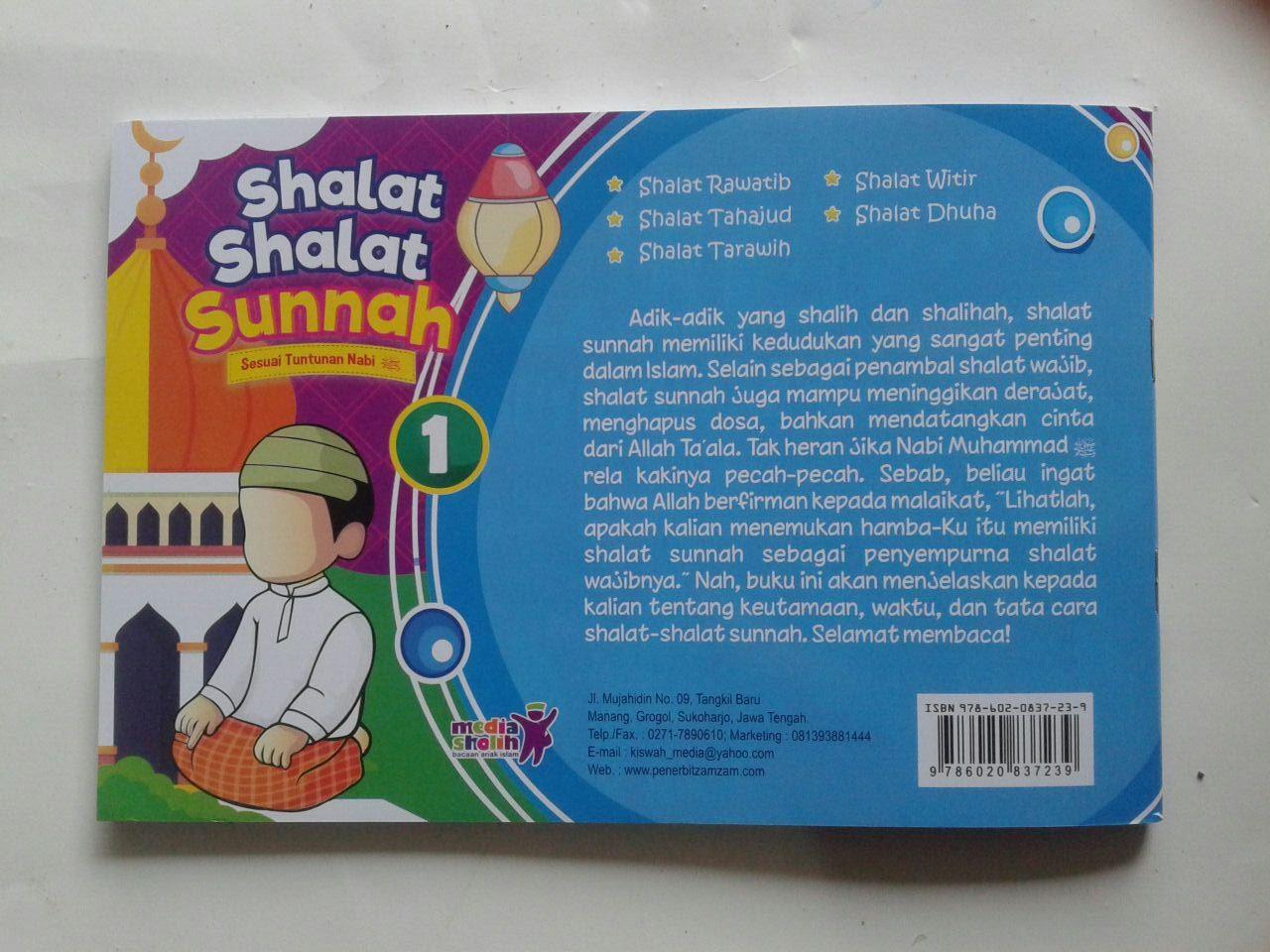 Buku Anak Shalat Shalat Sunnah Sesuai Tuntunan Nabi 1 cover