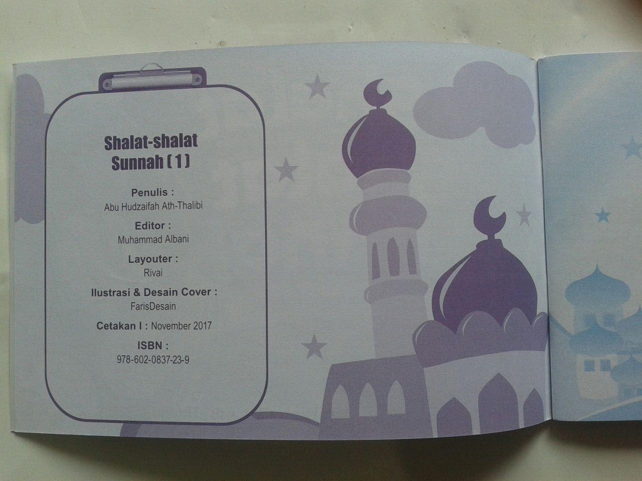 Buku Anak Shalat Shalat Sunnah Sesuai Tuntunan Nabi 1 isi 2