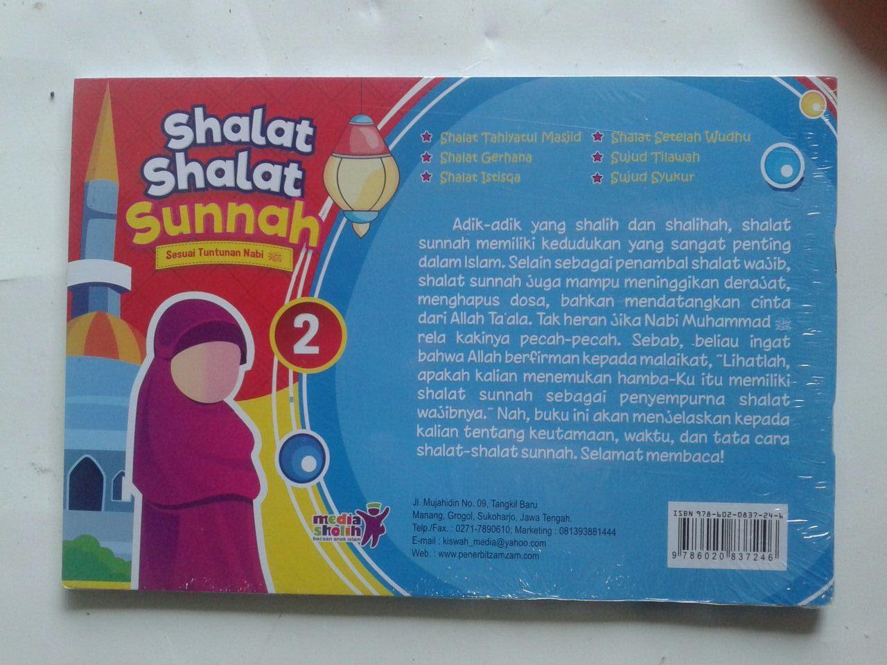 Buku Anak Shalat Shalat Sunnah Sesuai Tuntunan Nabi 2 cover