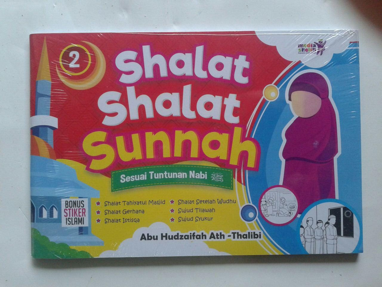 Buku Anak Shalat Shalat Sunnah Sesuai Tuntunan Nabi 2 cover 2