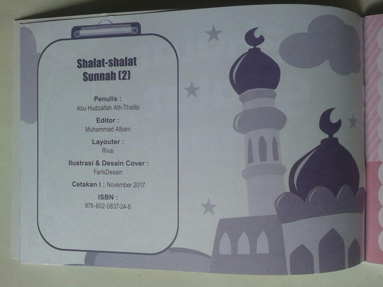 Buku Anak Shalat Shalat Sunnah Sesuai Tuntunan Nabi 2 isi 2