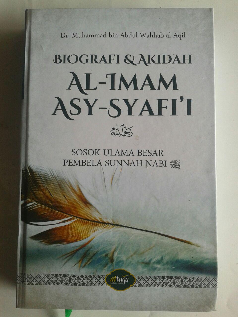 Buku Biografi Dan Akidah Al-Imam Asy-Syafi'i cover 2