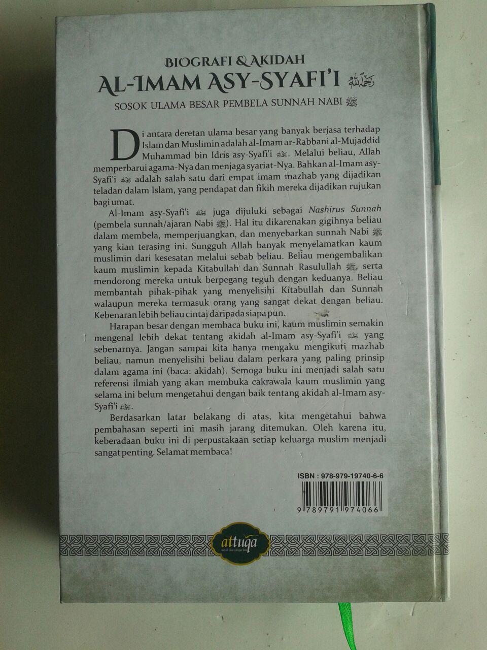 Buku Biografi Dan Akidah Al-Imam Asy-Syafi'i