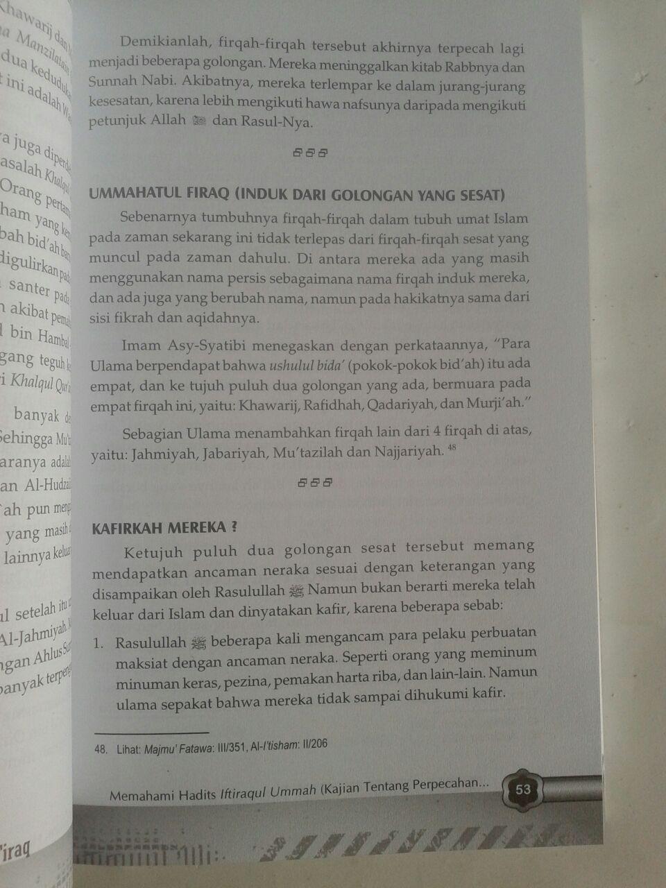 Buku Dirasatul Firaq Mengenal Madzhab Teologi Islam Klasik isi 2
