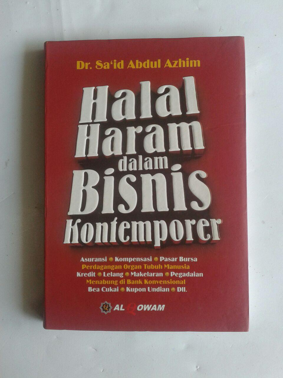 Buku Halal Haram Dalam Bisnis Kontemporer cover 2
