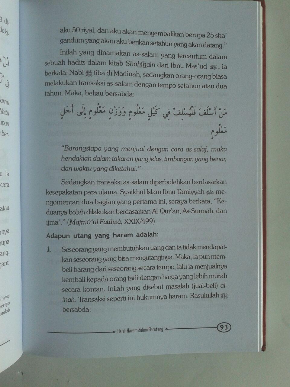 Buku Halal Haram Dalam Bisnis Kontemporer isi 2