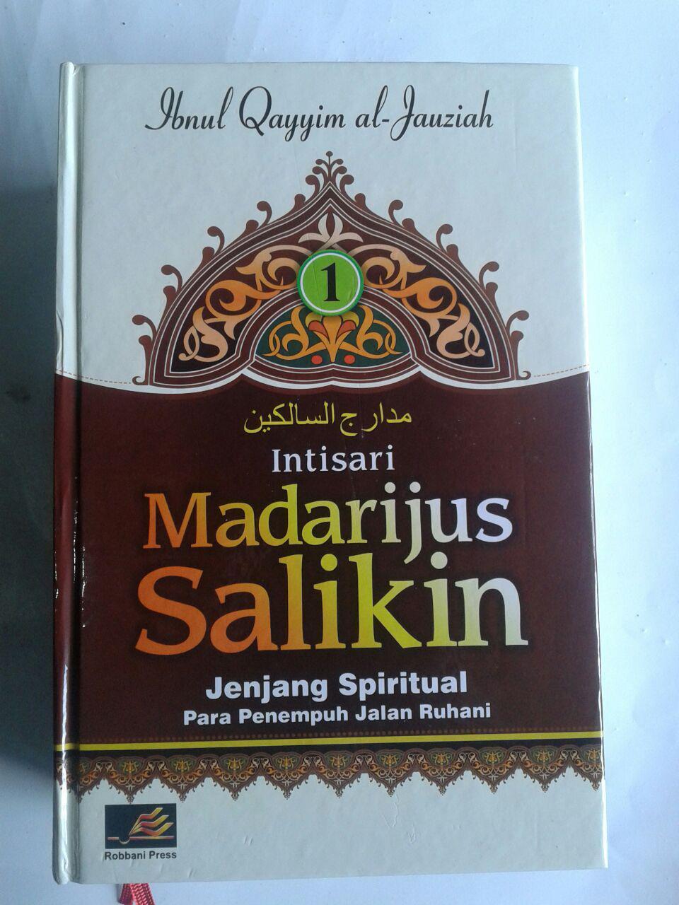 Buku Intisari Madarijus Salikin Jenjang Spiritual Jalan Ruhani cover 3