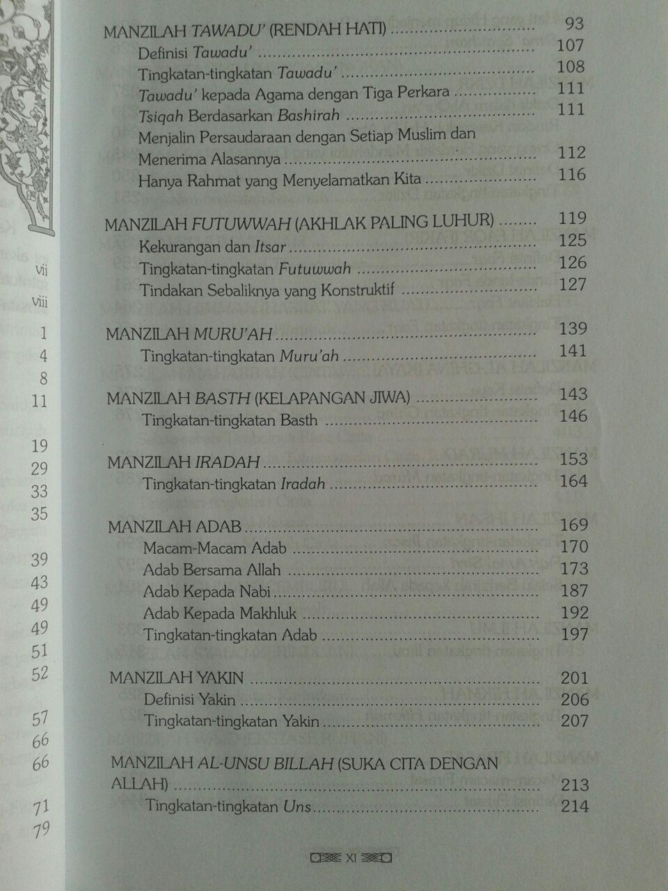 Buku Intisari Madarijus Salikin Jenjang Spiritual Jalan Ruhani isi 4