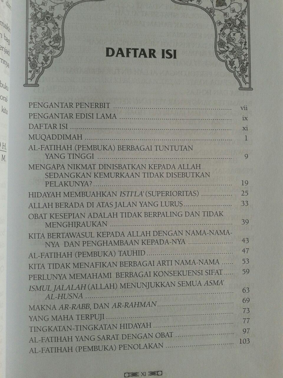 Buku Intisari Madarijus Salikin Jenjang Spiritual Jalan Ruhani isi 5