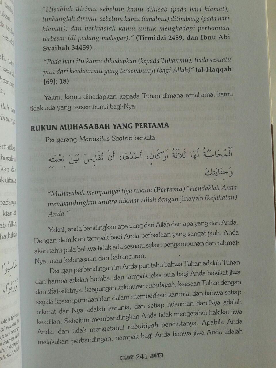 Buku Intisari Madarijus Salikin Jenjang Spiritual Jalan Ruhani