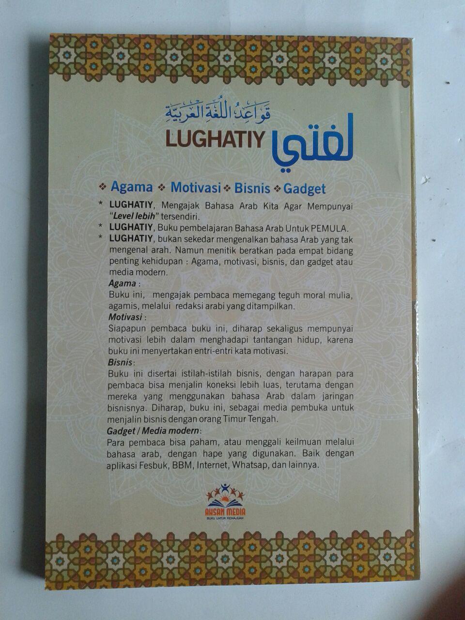 Buku Jurus Taktis Menguasai Bahasa Arab Untuk Pemula cover