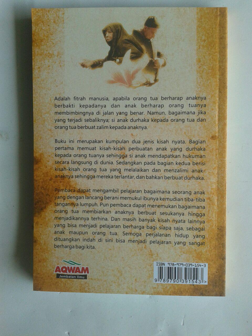 Buku Kisah-Kisah Anak Durhaka Dilengkapi Kisah Orangtua Lalai cover