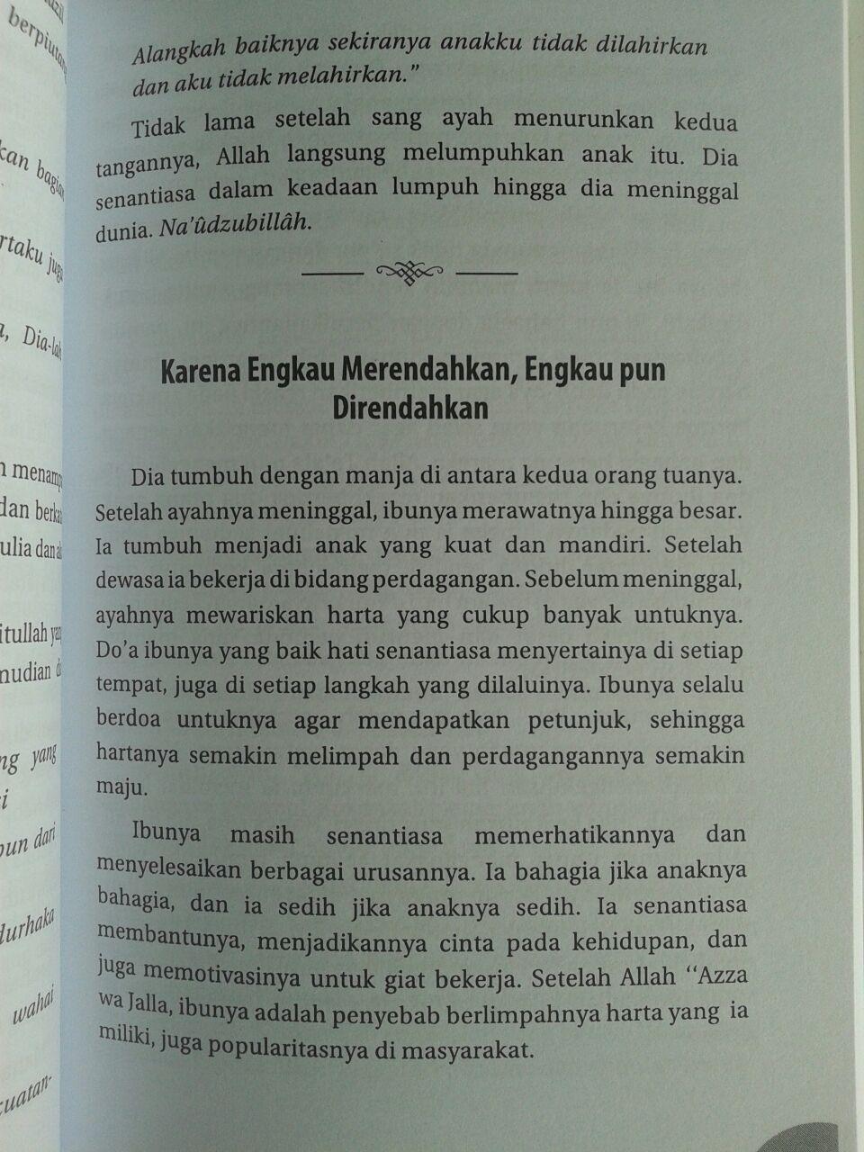 Buku Kisah-Kisah Anak Durhaka Dilengkapi Kisah Orangtua Lalai isi 2