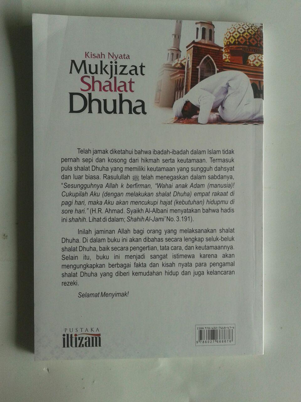 Buku Kisah Nyata Mukjizat Shalat Dhuha Pembuka Pintu Rezeki cover
