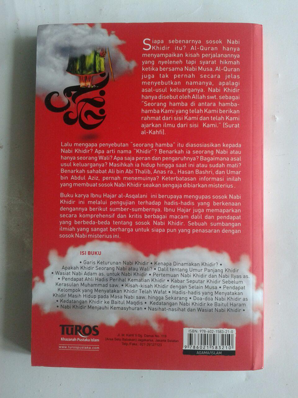 Buku Misteri Nabi Khidir Mengenal Nabi Misterius cover