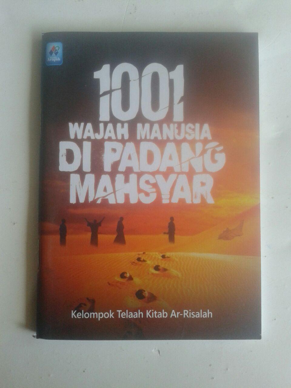 Buku Saku 1001 Wajah Manusia Di Padang Mahsyar cover 2