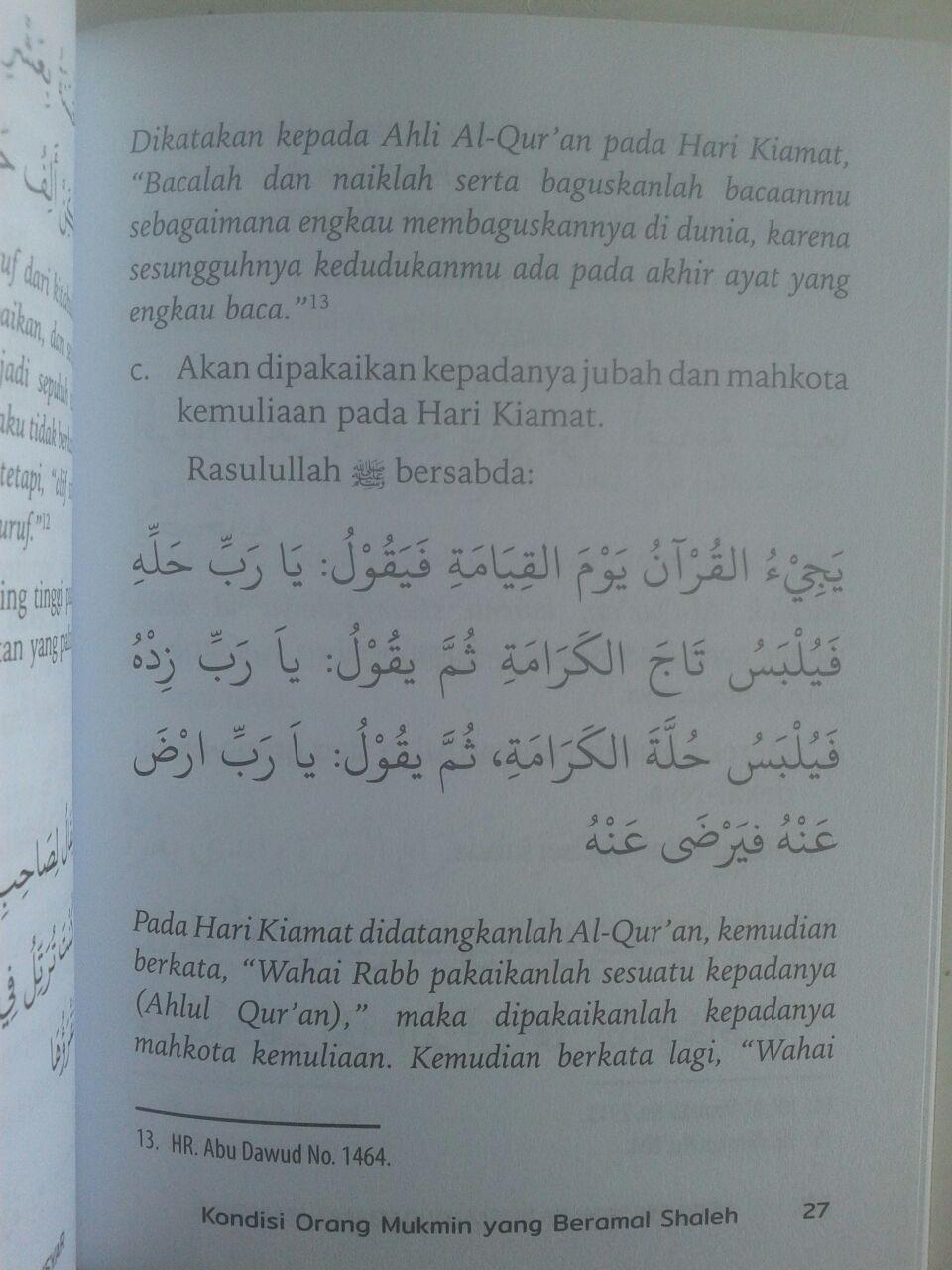Buku Saku 1001 Wajah Manusia Di Padang Mahsyar isi 3