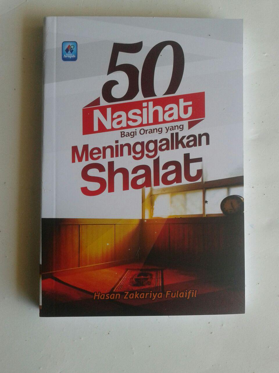 Buku Saku 50 Nasihat Bagi Orang Yang Meninggalkan Shalat cover 2