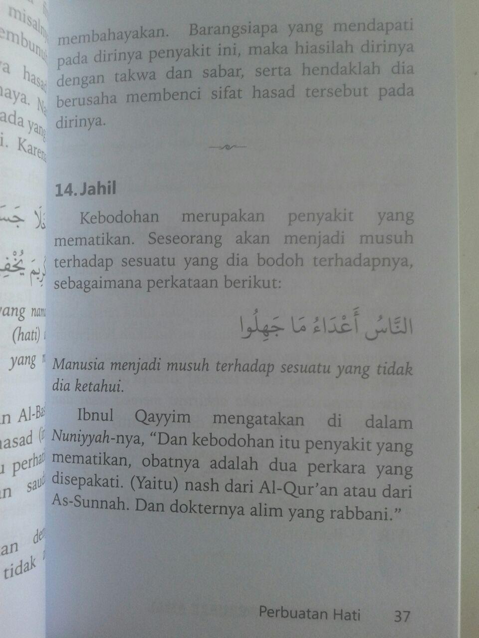 Buku Saku 52 Perkara Perusak Amal isi